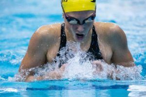 Weyant, Grimes, and Litherland All Drop 200 FR for 400 IM in San Antonio
