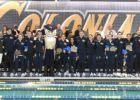 GWU Men Open Big Lead at A-10s, Osina Breaks Conference 200 IM Record