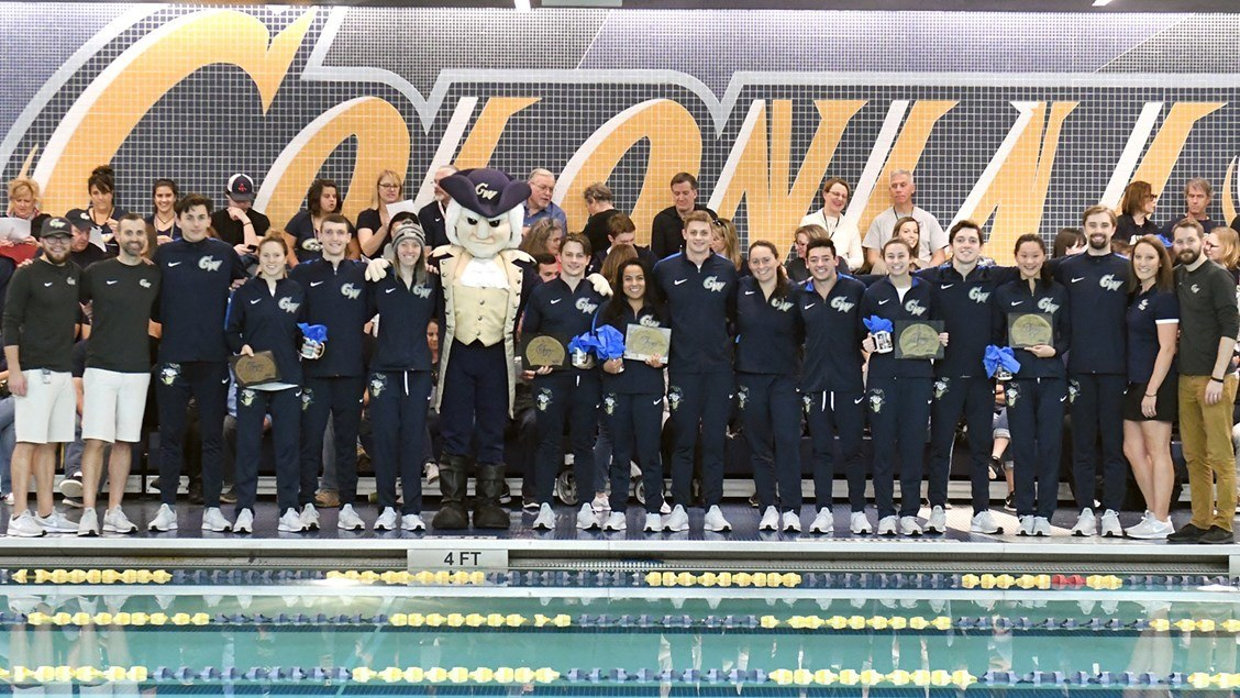 George Washington Men Break 2 Atlantic-10 Records on Day 1
