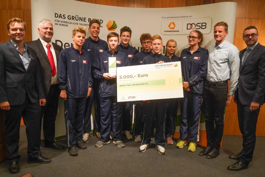 Berliner TSC erhält Grünes Band des DOSB