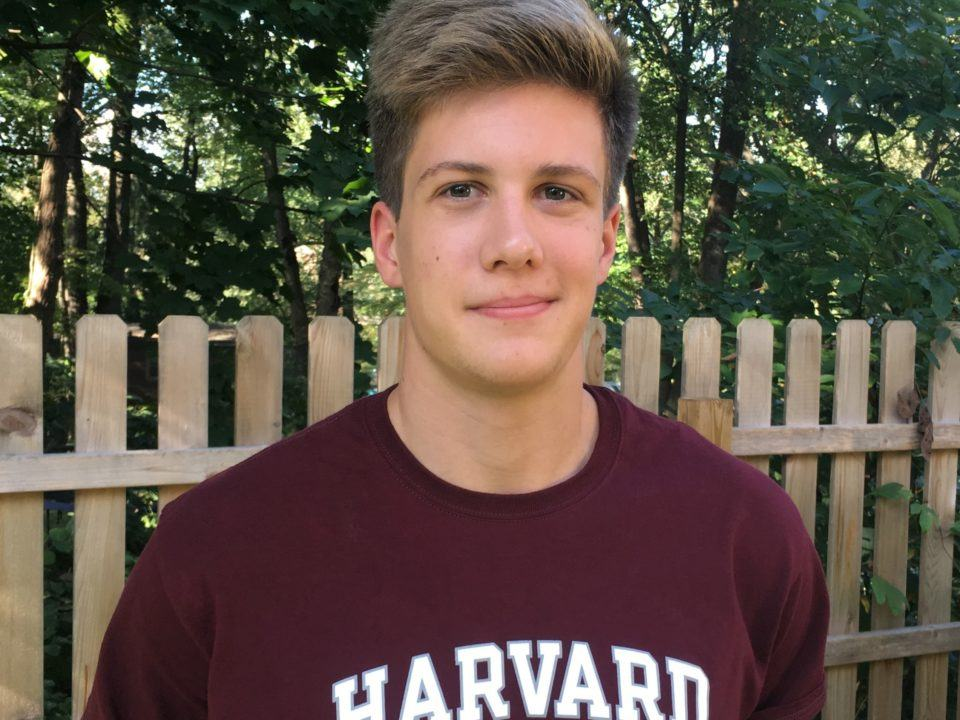 Breaststroker David Abrahams Verbally Commits to Harvard