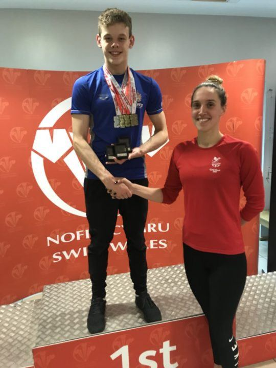 Jervis Notches Fast 400, Richards Nabs British Jr Rec At Wales C'ships