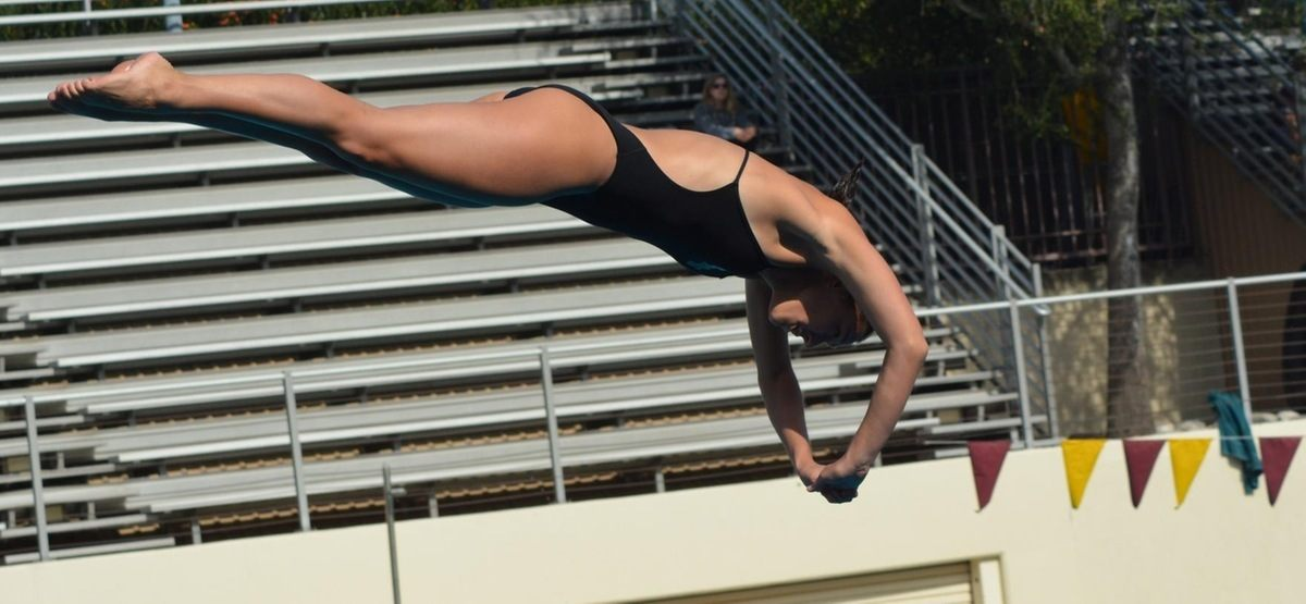 CMS' Jacque Desmond Tabbed as SCIAC Diver of the Week