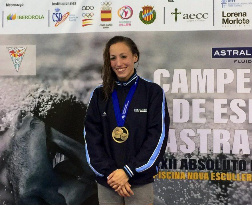 Jessica Vall Breaks Spanish Championship Record in 50 Breast