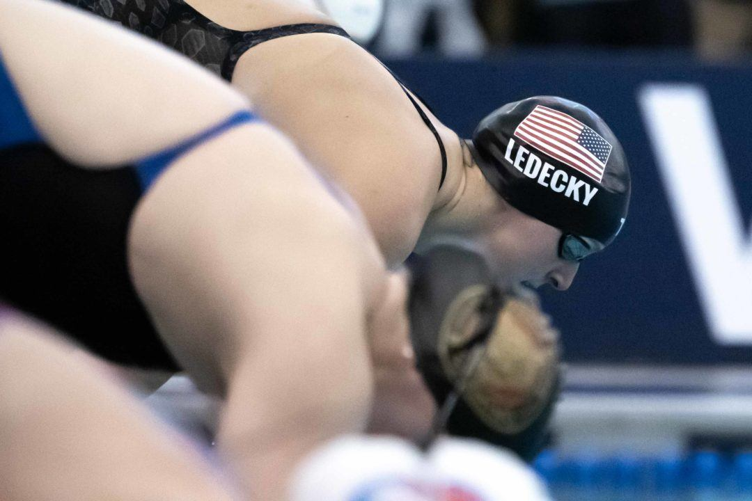 2018 Swammy Awards: World Female Swimmer of the Year Katie Ledecky