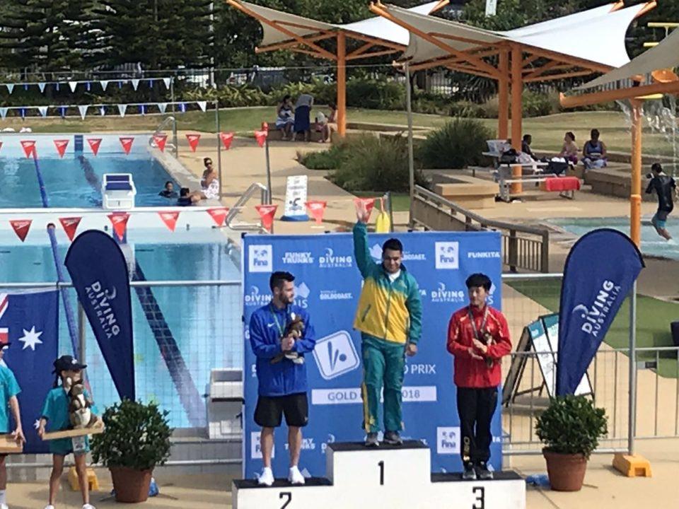 Australia Takes Four Golds at Gold Coast Diving Grand Prix