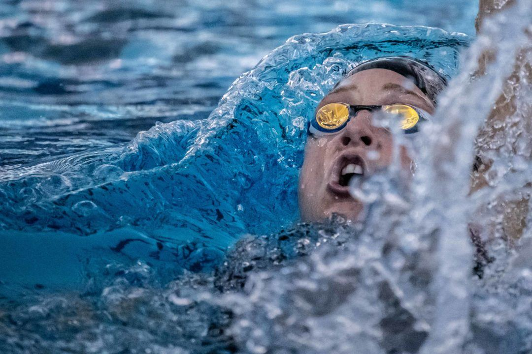 Madisyn Cox Goes World-Leading Time in 200 IM at Longhorn Invite