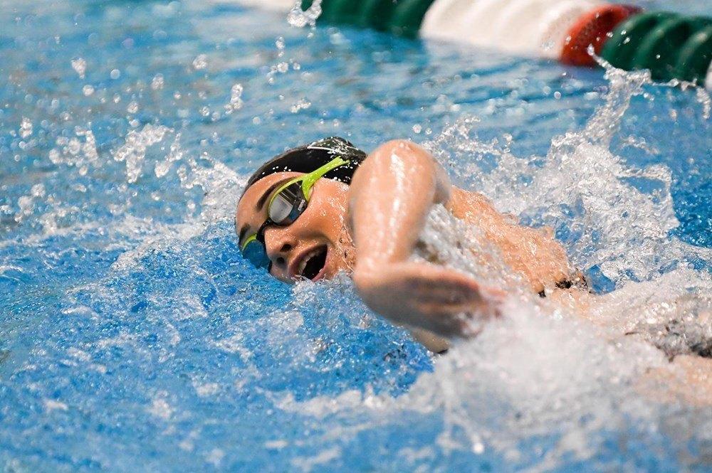 Nicole Swartz Swims MAC's #2 1000 Free as EMU Rolls Ohio with Depth