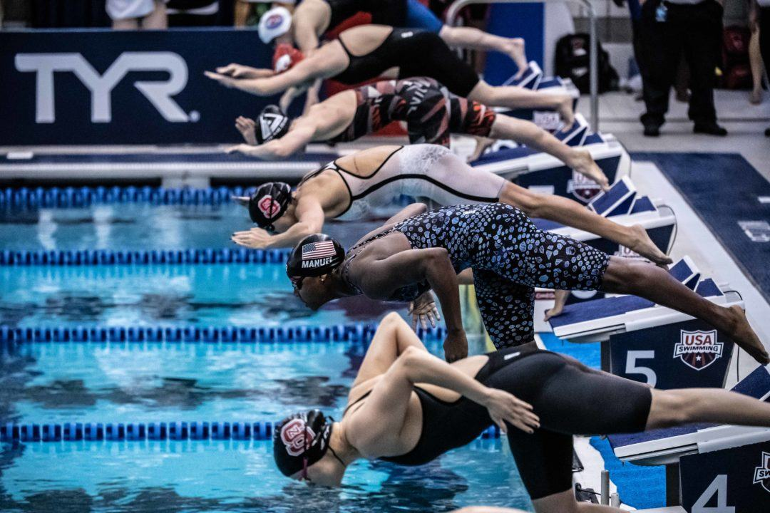 Watching Swimming: What Makes a Race Good?