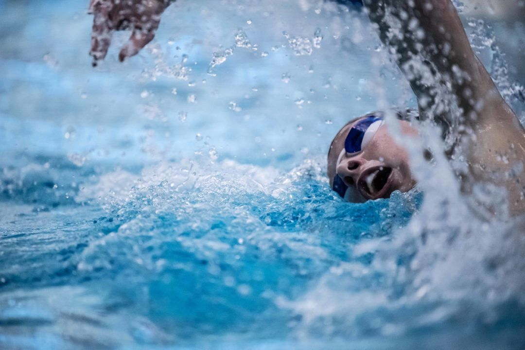 Summer Smith Swims National Age-Leading Time in 200 Back in Indy