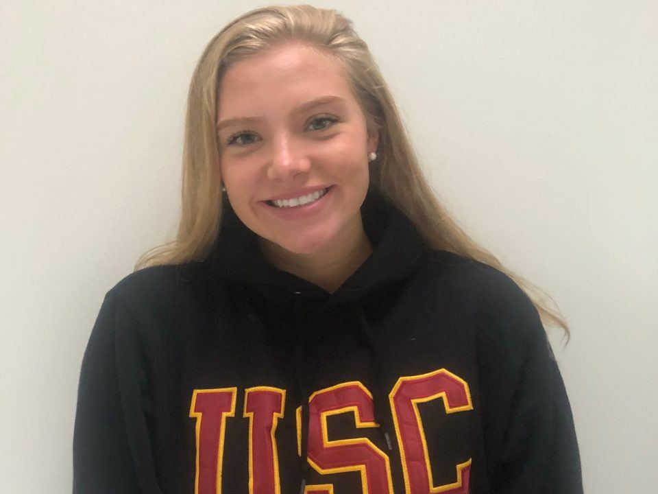 Hawaiian Breaststroker Maile Lawson Announces Verbal Commitment to USC