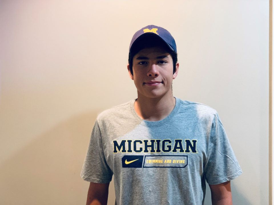 Ecuadorian Distance Swimmer Yugo Tsukikawa (2020) Commits to Michigan