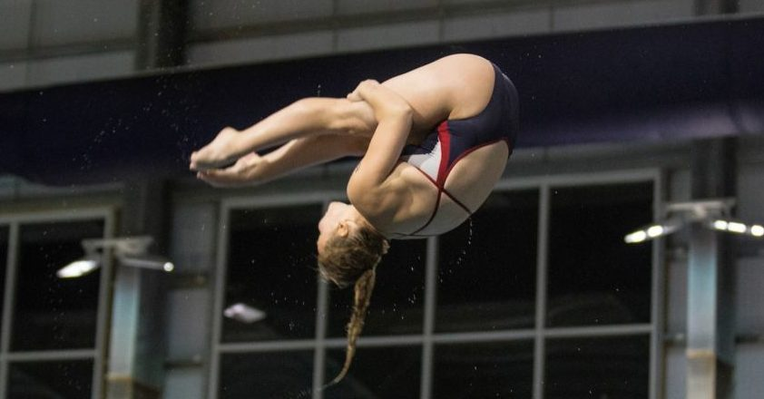 Liberty's Lauren Chennault Selected as CCSA Women's Diver of the Week