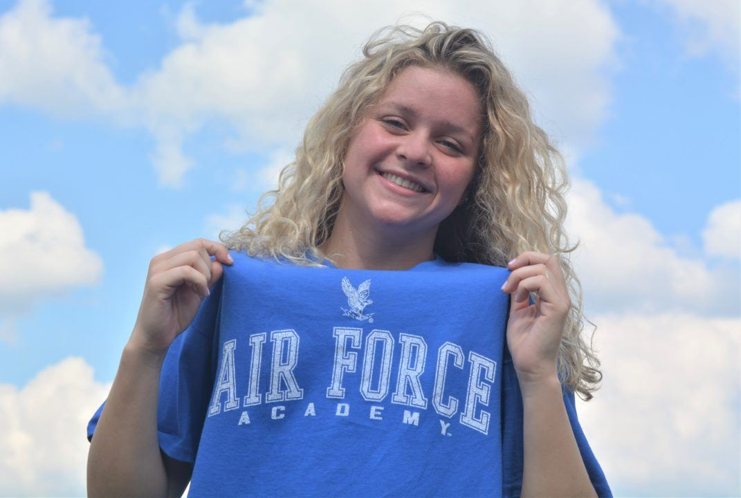 Stingrays' Gabby Auerbach Commits to US Air Force Academy