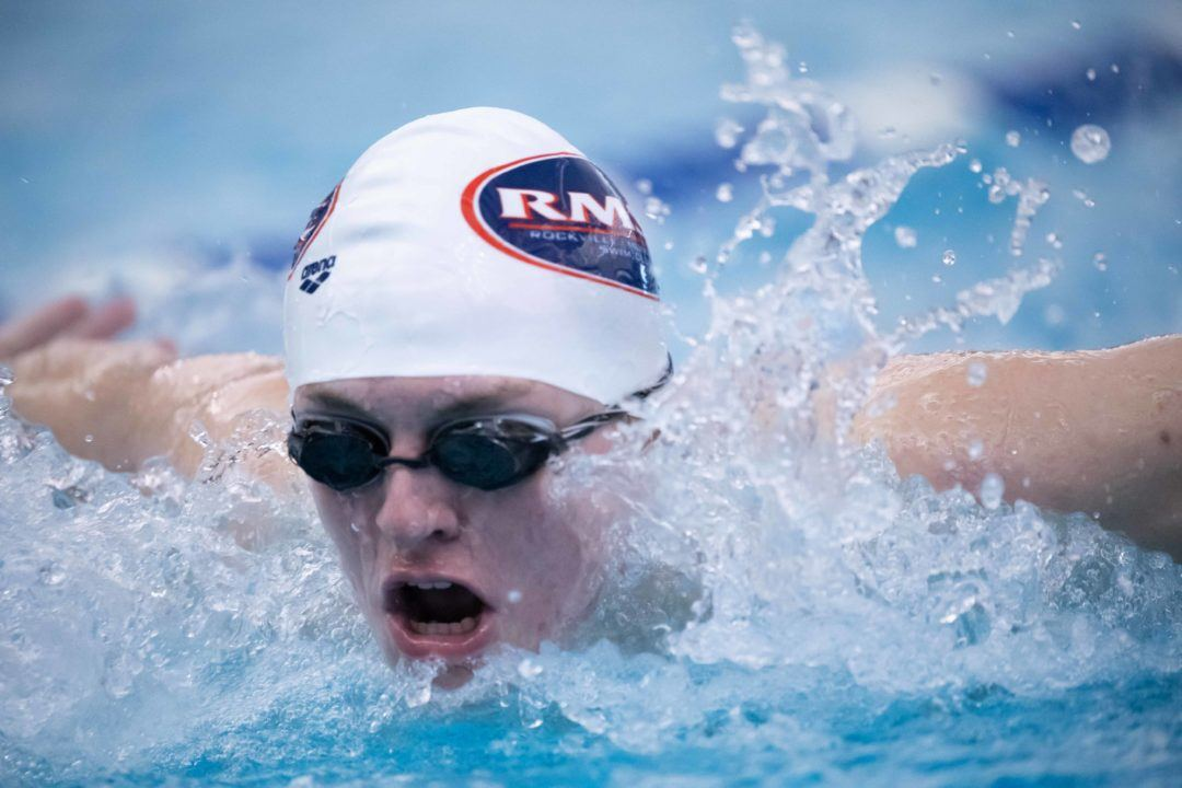 Future Hokie Ryan Vipavetz Takes Two Events on Day 1 of Maryland LC State