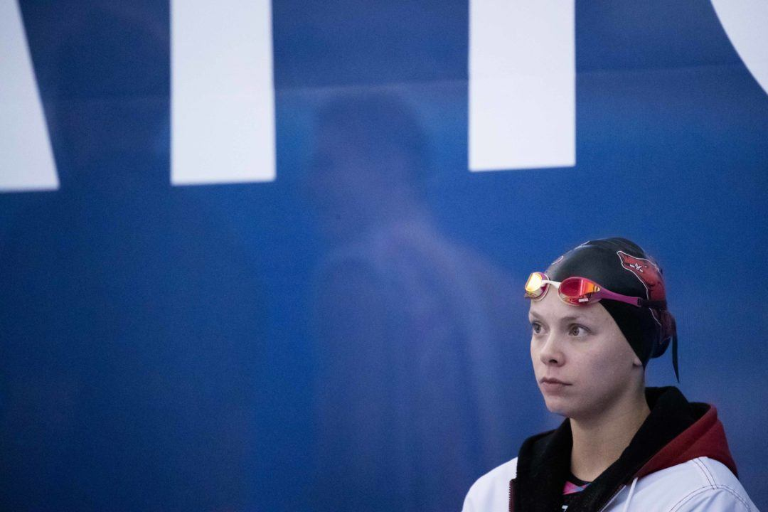 Anna Hopkin Produces British Textile 50 Free Record