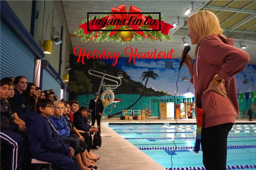 Merry Christmas Oasis Aquatics from Laguna Fin, Kaitlin Sandeno