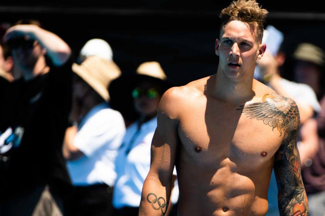 Dressel Comes From Behind As Americans Break WR In Mixed Medley Relay