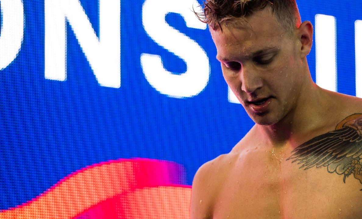 """Caeleb Dressel on Spectating at SEC's – """"It was hard"""" (Video)"""