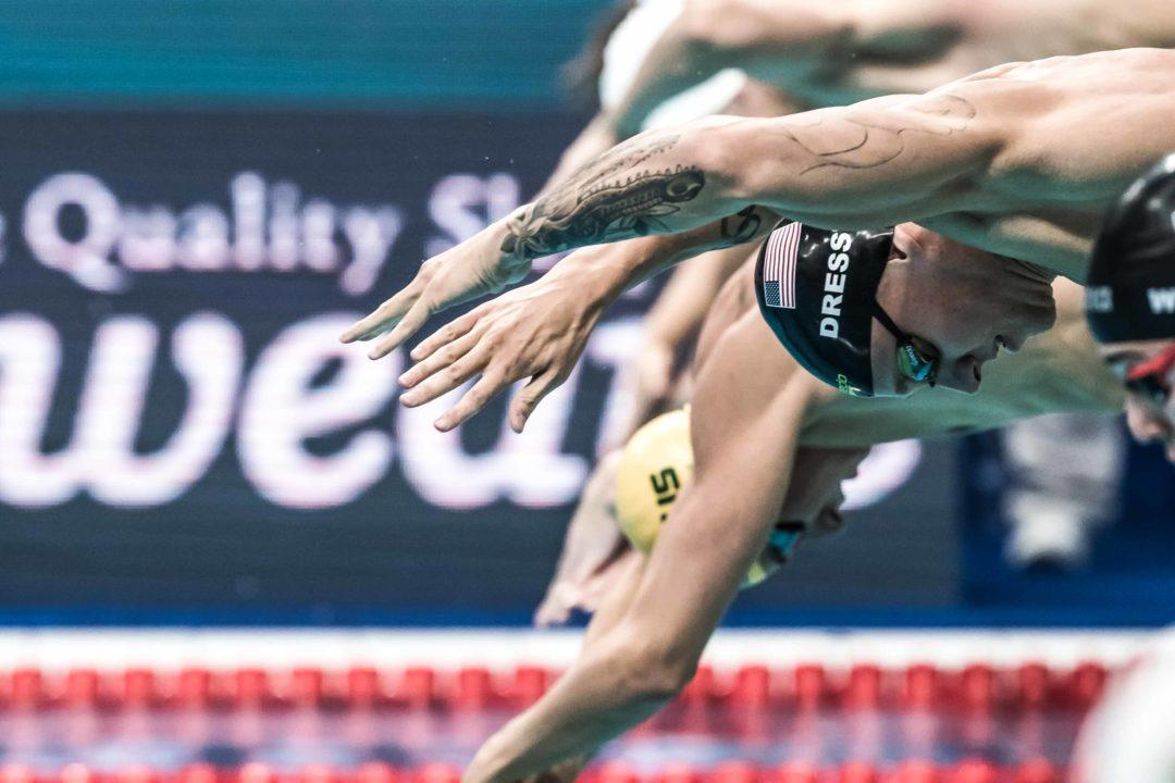 Improving your Swimming Race Starts off the Blocks
