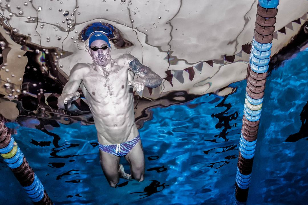 Caeleb Dressel Explains Wearing a Brief for Prelims (Video)