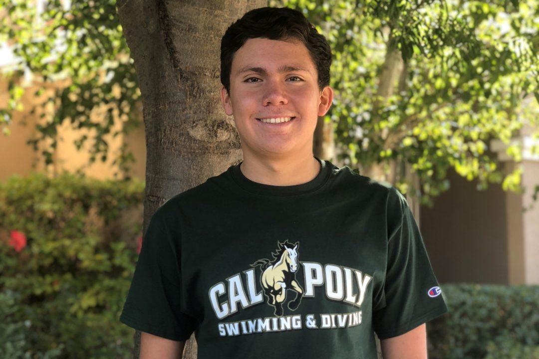 Pleasanton Backstroker Mattias Blanco Commits to In-state Cal Poly