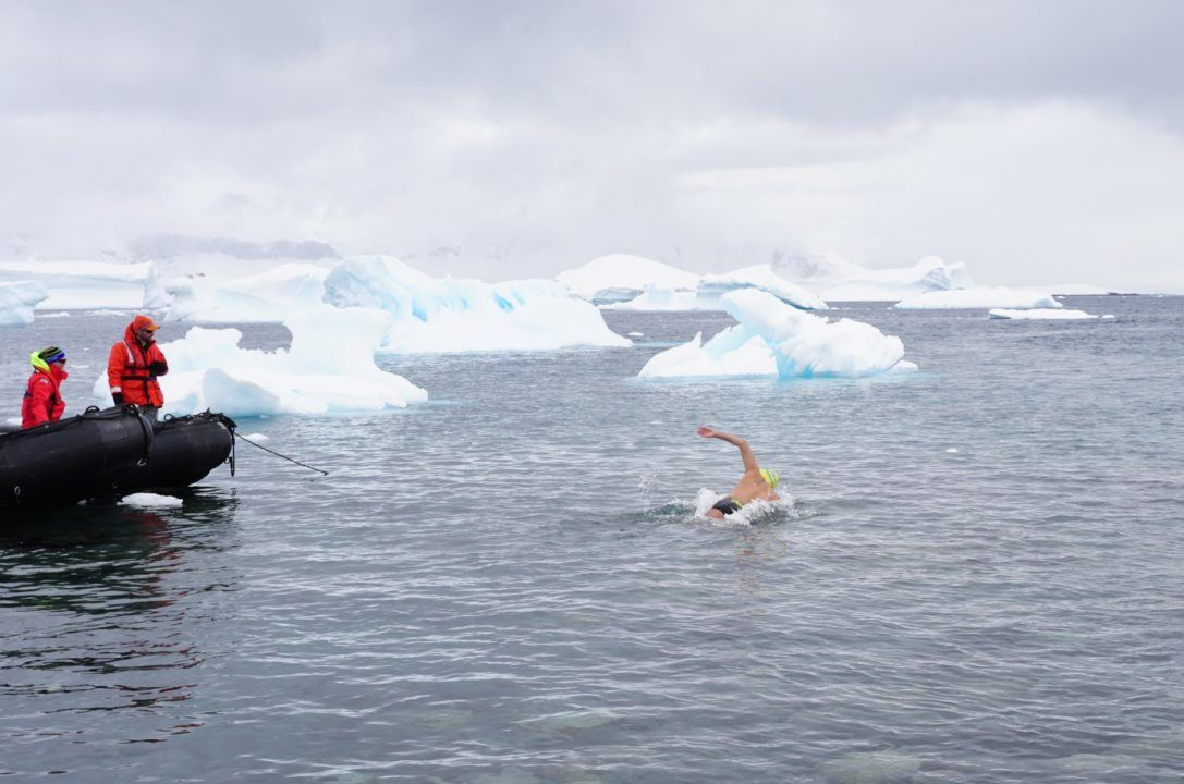With Antarctic Kilometer, Diego Lopez Completes 'Continents Seven'