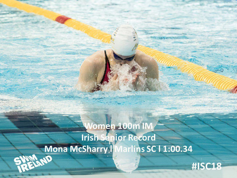 McSharry Kicks Off Day 3 Prelims With 100 IM Irish NR