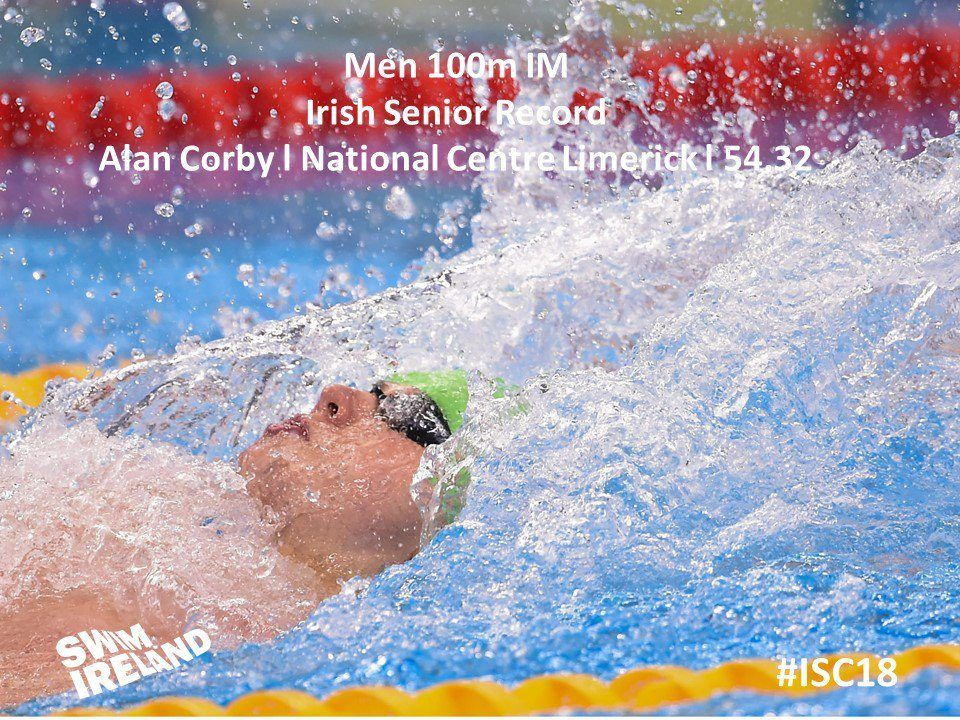 Alan Corby Leads Record Assault At Irish SC C'ships Day 3