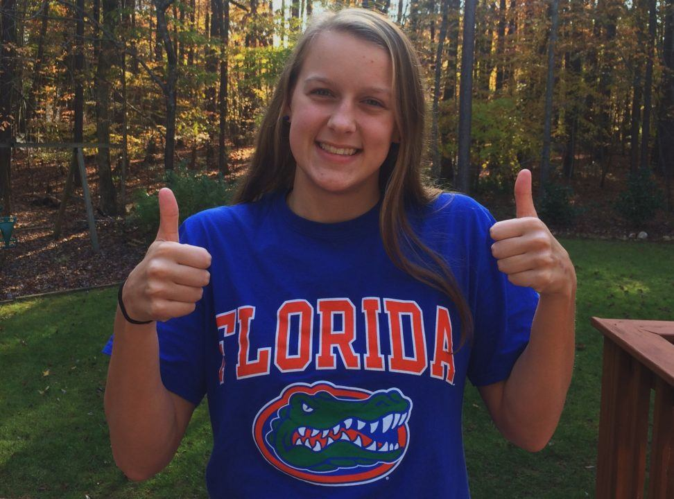 NC 4A State Champ Amanda Ray Verbally Commits to Florida for 2020