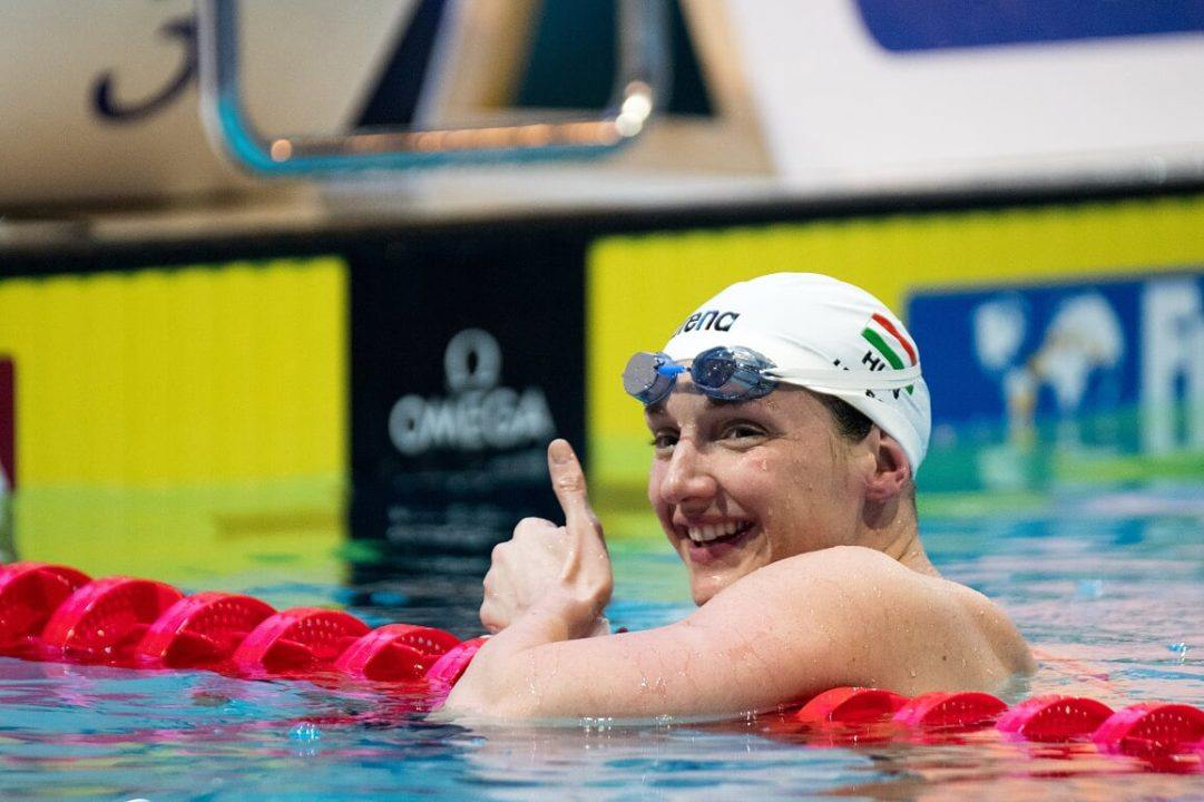 Hosszu Rocks Her Fastest 200 Fly Time Of The Season In Stockholm, Sjostrom 52.76 1Free