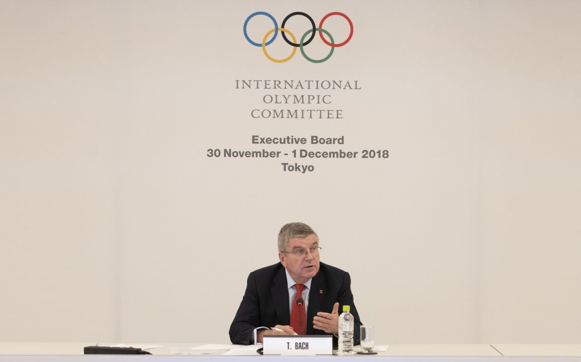 IOC Commits to Increasing Number of Young Change-Makers for 2019
