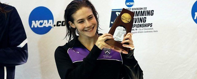 Kenyon's Julia Wilson Named as NCAA Today Top 10 Honoree