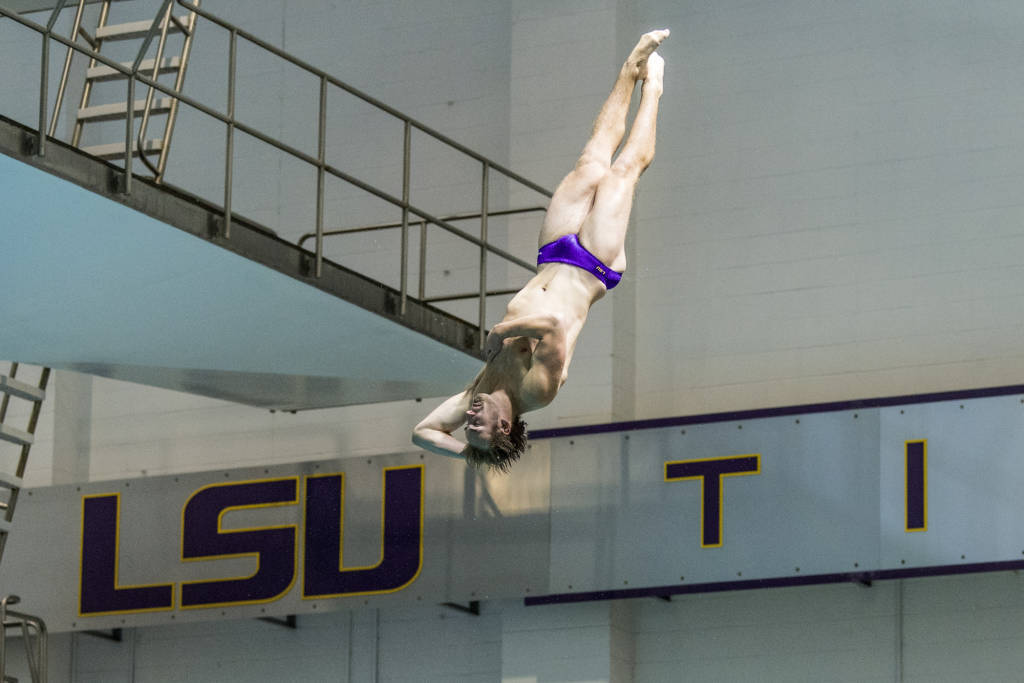 LSU Diving Heads to Auburn for Three Day Invitational