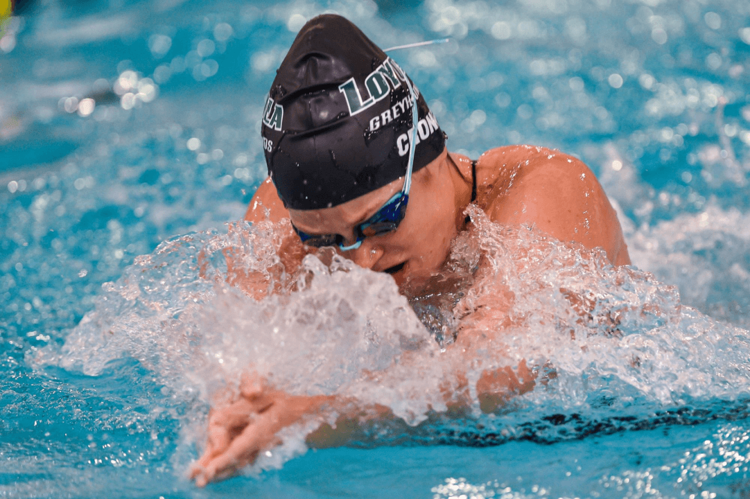 Loyola Sweeps H2Ounds Invitational Titles