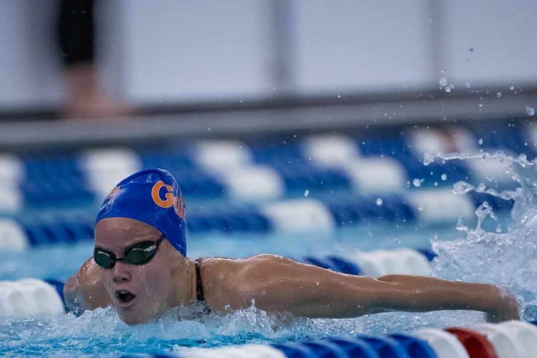 Mabel Zavaros Will Take on Rare 200 Back/200 Fly Double at NCAAs