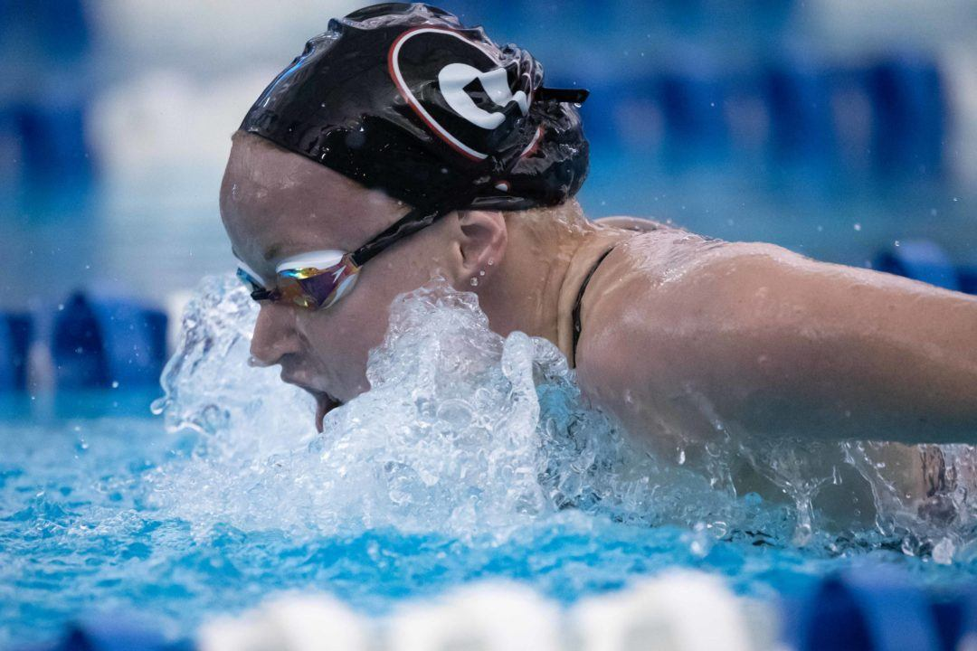 Megan Kingsley Goes Best Time in 200 Fly After Being Hit By Car In April