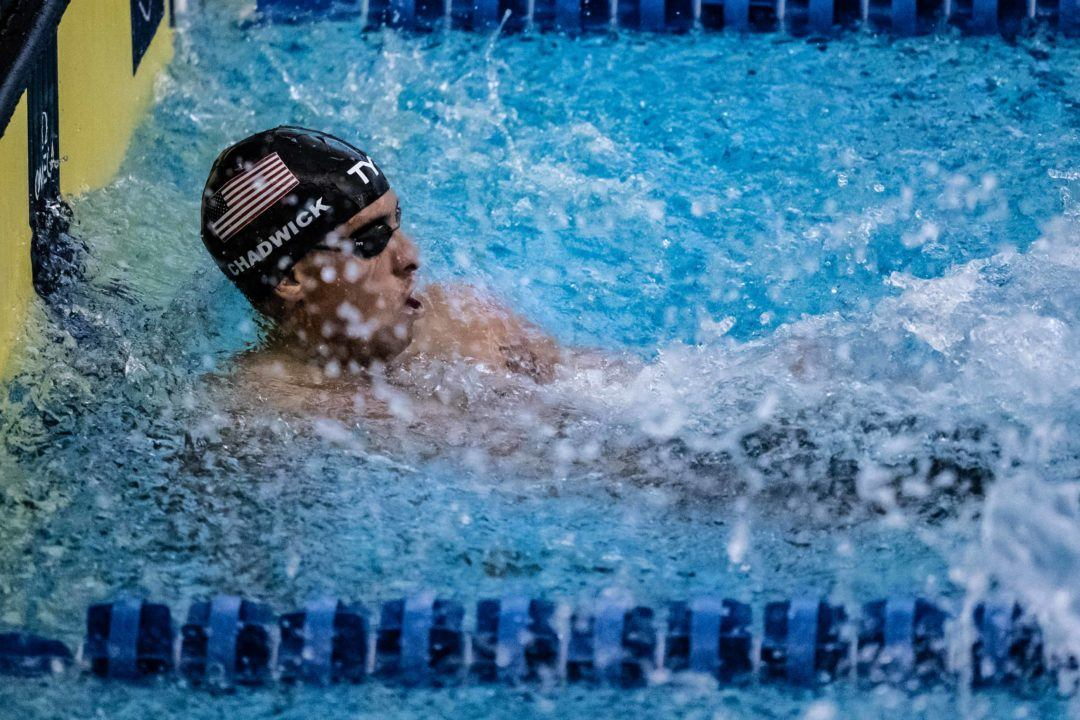 Michael Chadwick: From 50 Freestyle DQ to 100 Free Victory (Video)