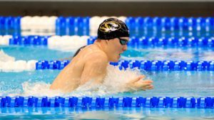 Patton's 51.8 100 Breast, Kovac's 45.0 100 Fly Highlight Day 2 of Mizzou Invite