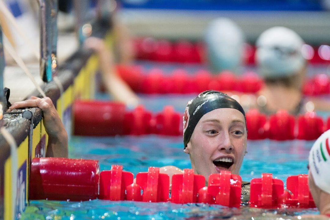 Taylor Ruck Has Potential Day 3 Triple at NCAA Championships