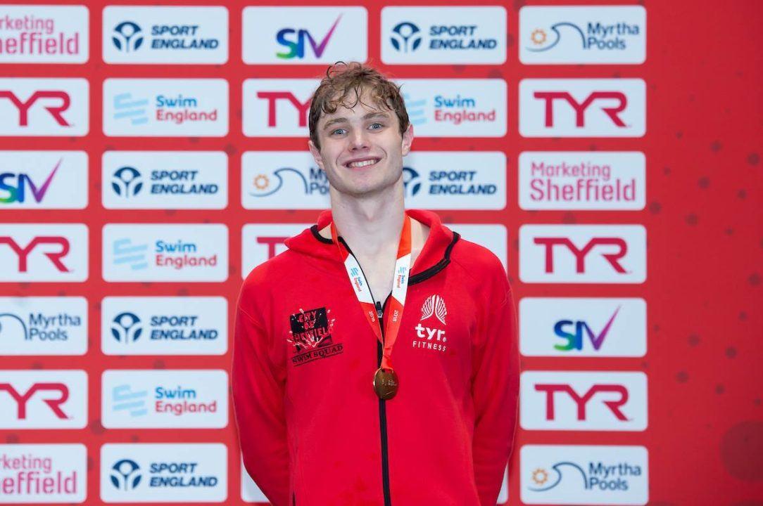 Jay Lelliott Lights Up Swim England Winter Championships