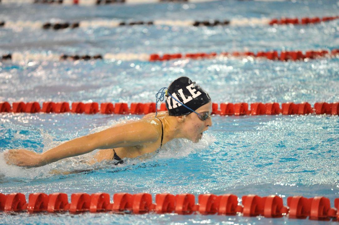 2019 Women's Ivy League Day 1: Harvard/Yale Tie Lead, 3 Records Down