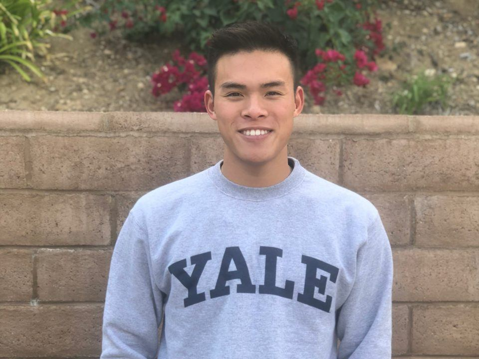 CIF-SS Butterfly Champ Connor Lee Commits to Yale Bulldogs