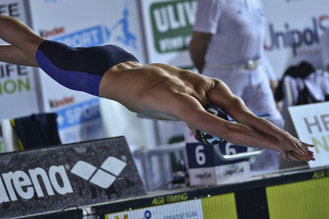 Criteria 2019: Arena Lancia Il Premio Most Valuable Swimmer (MVS)