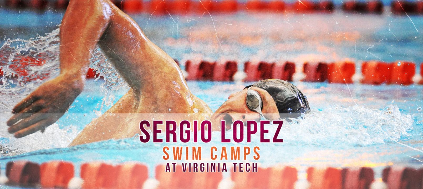 Sergio Lopez Swim Camps at Virginia Tech – Sign Up Today