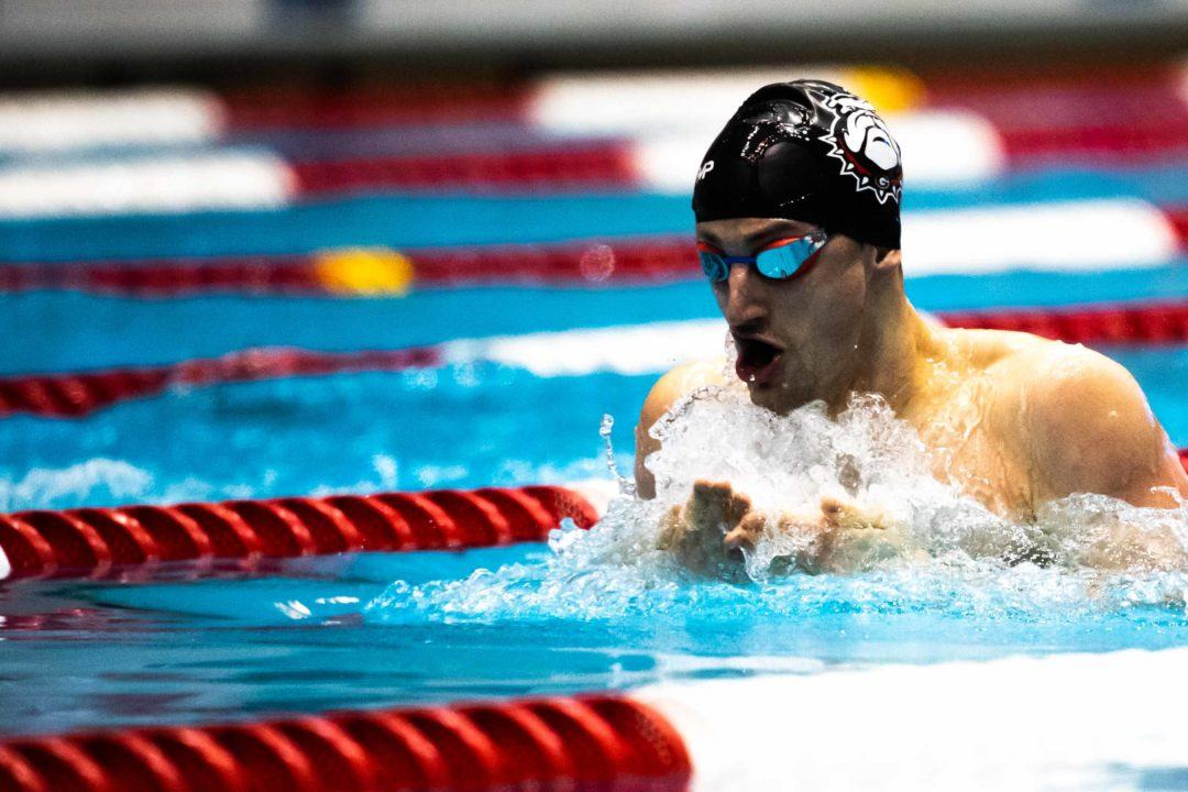 Andrew Wilson Scratches B Final of 400 IM on Day 3 in Greensboro