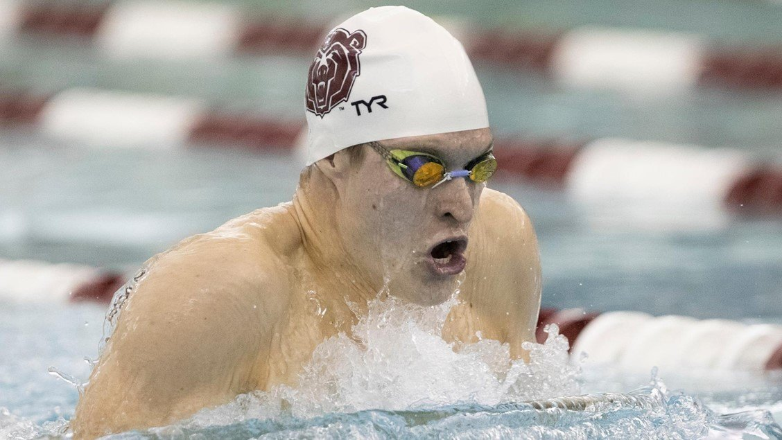 Missouri State's Osvath Breaks Records, Tabbed MAC Swimmer of the Week