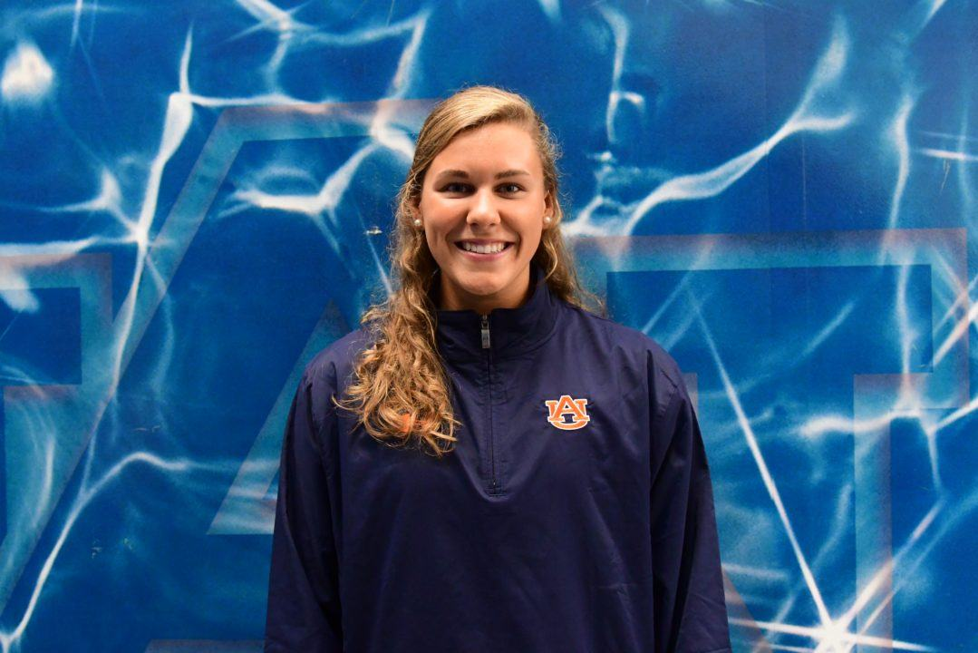 SwimMAC's Kensley Merritt Verbally Commits to Auburn for 2020