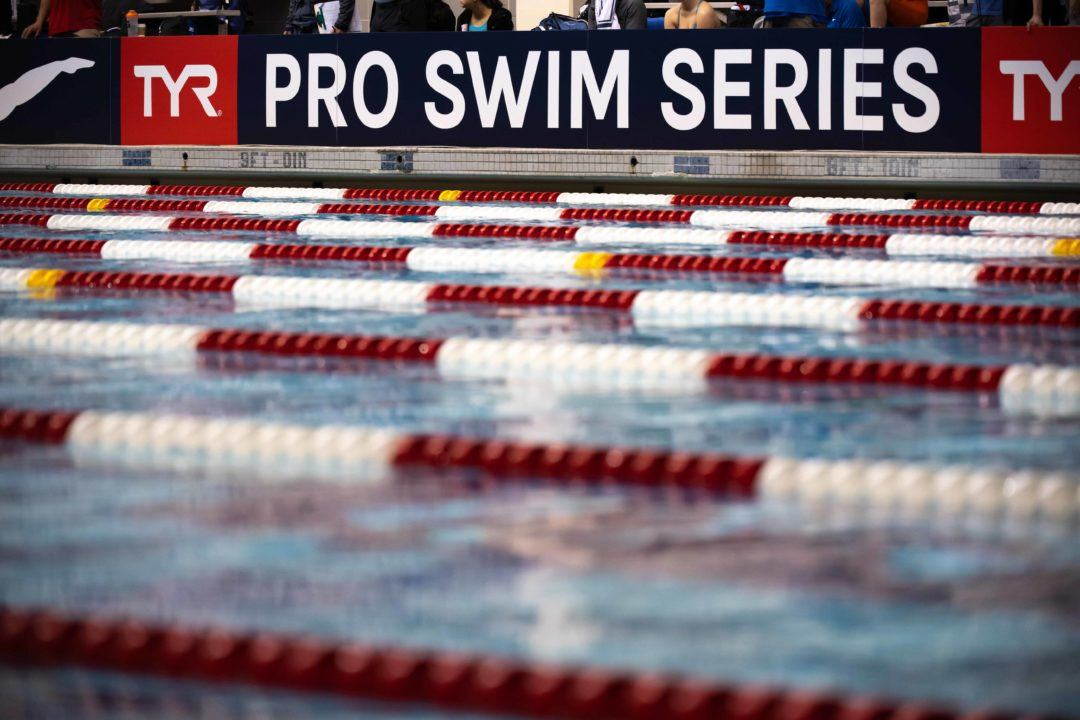 Time Standards Softened for Upcoming Des Moines Pro Swim Series