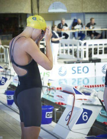 1b5fd862ab9 Sarah Sjostrom wear a new suit in 2019 Euro Meet. Credit FLSN – Luxemburg  Swimming Federation